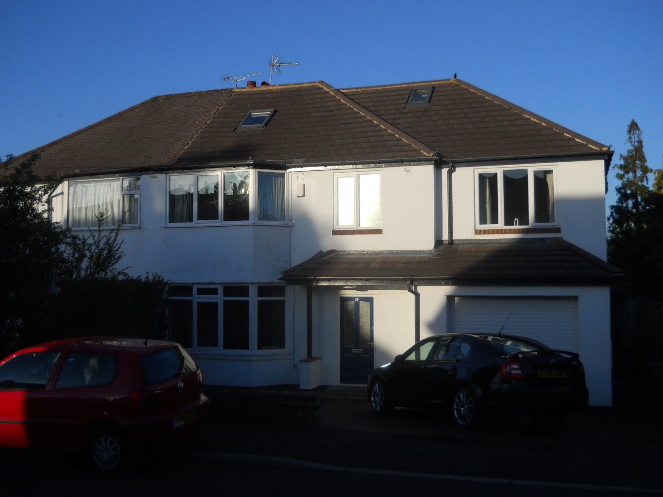 adjacent semi with existing extension similar to appeal